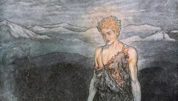 """""""Siegfried ou qui deviendra le seigneur de l'anneau"""" - Image © 2014 Grand Théâtre de Genève"""