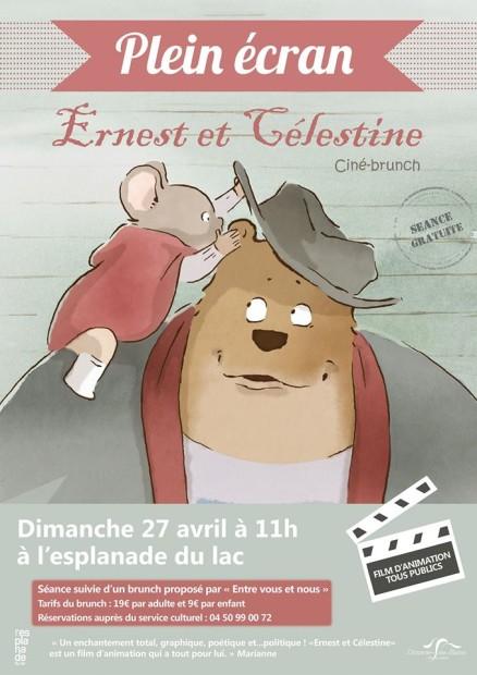 © Ciné brunch - Ernest et Célestine, Divonne-les-Bains