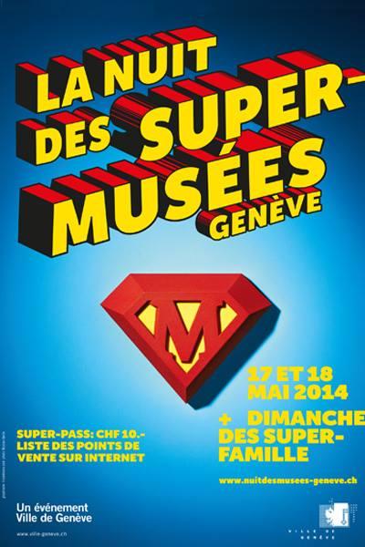 """© 2014 La Nuit des musées de Genève & """"after en famille"""""""