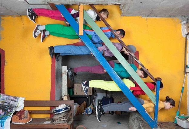 """Exhibition """"Living Room"""" © Fête de la Danse, Geneva"""