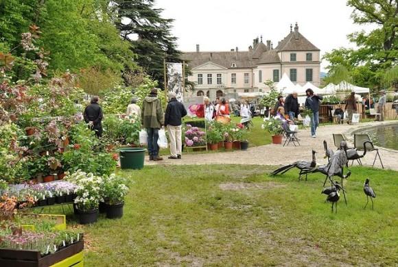 © Jardins en Fête, parc du Château de Coppet