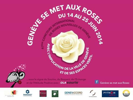 © Genève se met aux Roses, Geneva.