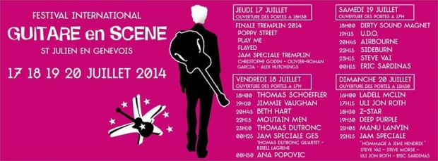 © 2014 Guitare en Scene, St Julien-en-Genevois (France)