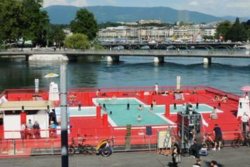 © L'amarr@GE - Bains lacustres sur le Rhône