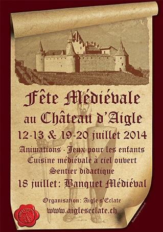 © 2014 Fête Médiévale au Château d'Aigle