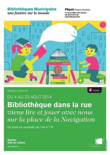 © 2014 Bibliothèques Municipales Genève
