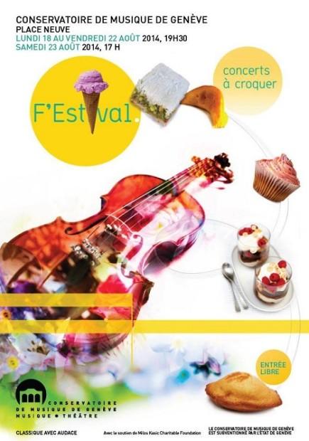© 2014 F'Estival Concerts à Croquer - Conservatoire de Musique de Genève
