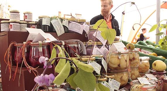 © 2014 Pro specie rara autumn market, Lausanne