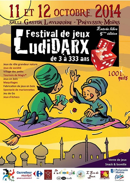© 2014 Festival LudiDARX