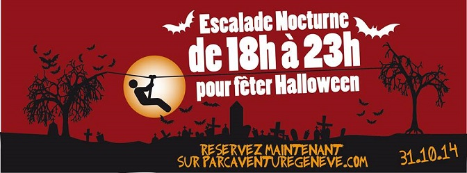 Halloween night © Parc Aventure des Evaux