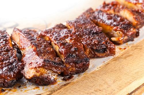 BBQ pork ribs from Funky BBQ © 2014 Funky BBQ Geneva
