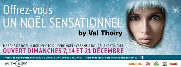 © 2014 Centre Commercial Val Thoiry