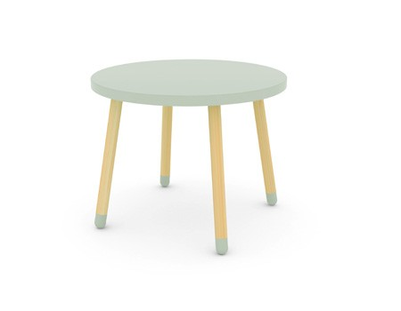 Flexa Play table + 3 stools. Image ©  Flexa.com