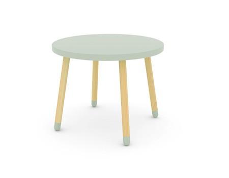 Flexa Play table + 3 stools. Image ©  Flexa.com