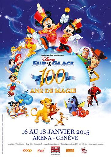 © Disney sur Glace