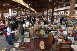 Vide-Grenier : marché aux puces couvert © Morges Région Tourisme