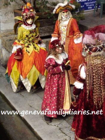 Carnaval Vénitien / Annecy. Photo © genevafamilydiaries.net