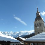 Glorious winter day in La Clusaz. Photo © genevafamilydiaries.net