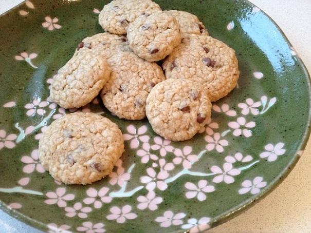 Oatmeal, Chocolate Chip & Virgin Coconut Oil cookies. Photo © genevafamilydiaries.net