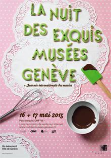 """© 2015 La Nuit des musées de Genève & """"after en famille"""""""
