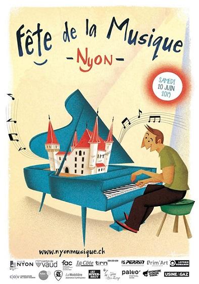 © 2015 Fête de la musique, Nyon