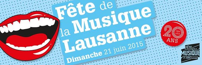 © 2015 Fête de la Musique Lausanne
