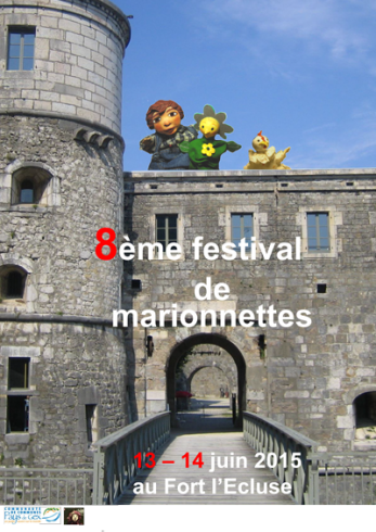 © 2015 Festival de marionnettes du Pays-de-Gex - Fort L'Ecluse