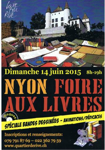 © 2015 Foire aux livres, Nyon (VD)