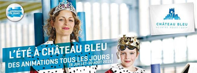 © 2015 Château Bleu - Centre Aquatique