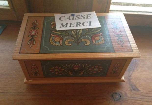 The honesty box. Photo © genevafamilydiaries.net