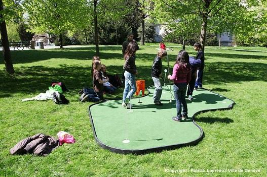 Golf Urbain - Geneva. Photo © P. Lopreno/Ville de Genève