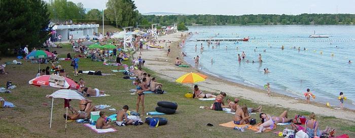 Plage de Divonne-les-Bains © comsports.fr