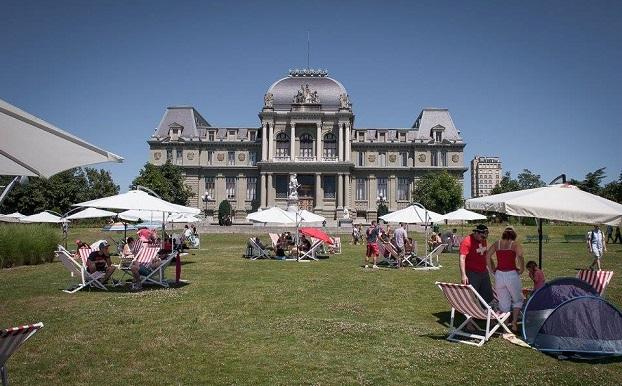 © Elise Heuberger Photographe - Pique-nique du 1er août organisé par Lausanne à Table