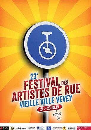 © 2015 Festival des artistes de rue, Vevey (VD)