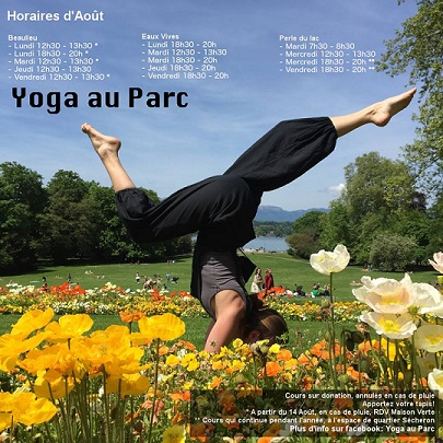 © 2015 Yoga au parc, Geneva