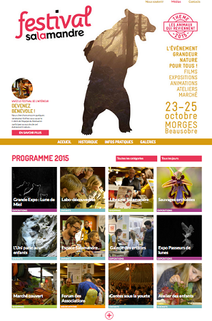 © 2015 Festival Salamandre, Morges.