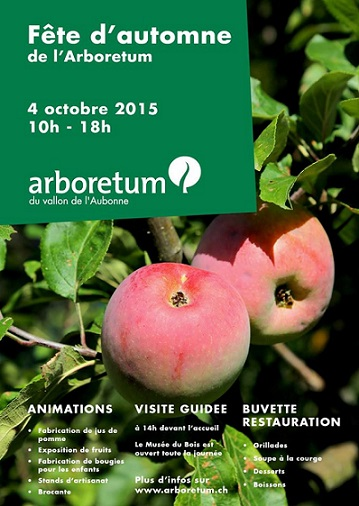 © 2015 Arboretum du vallon de l'Aubonne