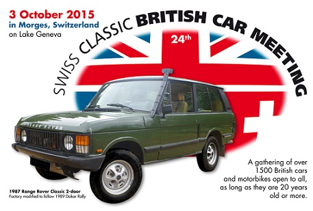 © 2015 Swiss Classic British Car Meeting