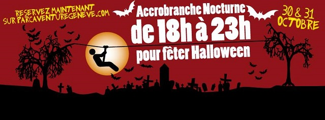 Halloween night © 2015 Parc Aventure des Evaux