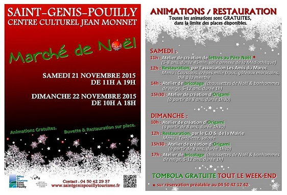 © 2015 Saint-Genis-Pouilly Tourisme, France