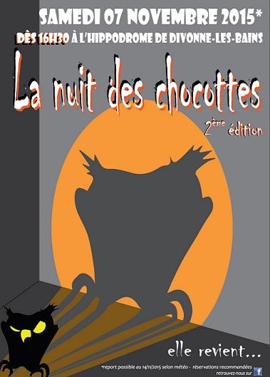 © 2015 La nuit des chocottes, Divonne-les-Bains.
