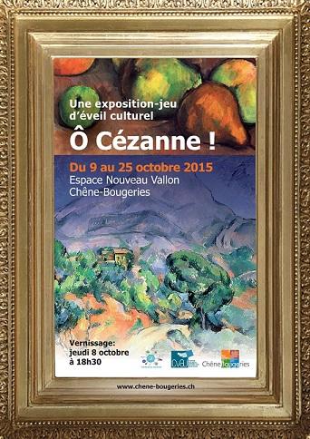 © Exposition-jeu d'éveil culturel : Ô Cézanne