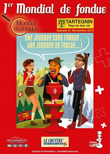 Copyright 2015 Mondial de Fondue, Tartegnin (VD).