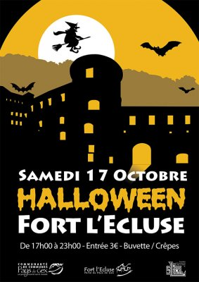 © 2015 Halloween Fort l'Ecluse (France)