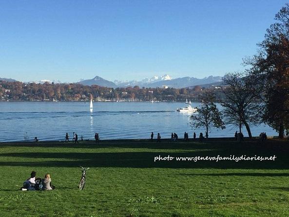 Parc de la Perle du Lac, Geneva. Photo © genevafamilydiaries.net