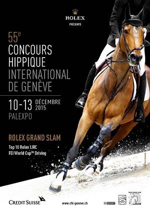 © 2015 55e Concours Hippique International de Genève