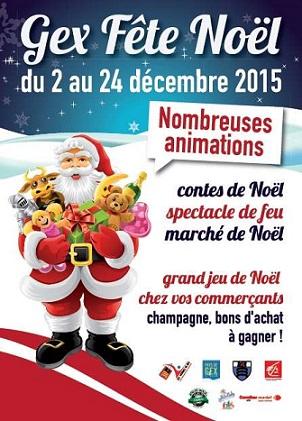 © 2015 Gex Fête Noël