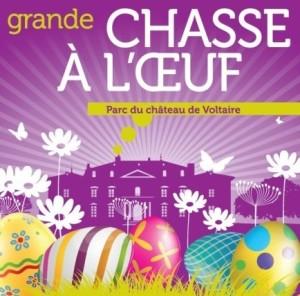 Grande chasse à l'oeuf, dimanche de Pâques © Ville de Ferney Voltaire, France