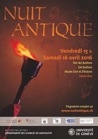 © 2016 La Nuit Antique, Geneva