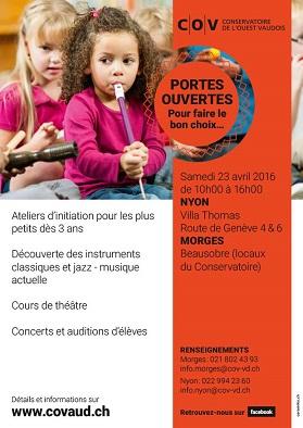 © 2016 COV - Conservatoire de l'Ouest Vaudois